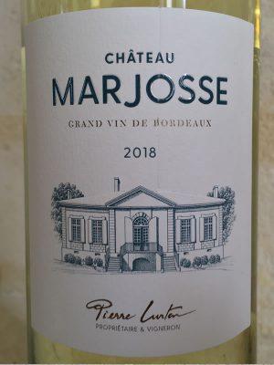 Label Château Marjosse