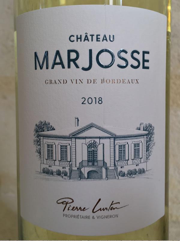 Château Marjosse Label
