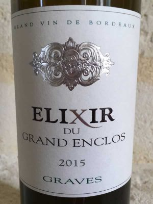 lixir Blanc du Grand Enclos Label