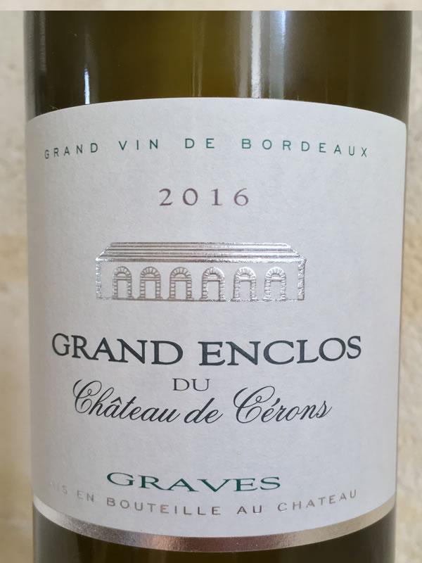 Grand Enclos du Château de Cerons Label