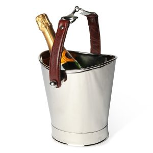 Polo Nickel Single Champagne Cooler