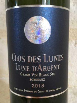 Clos des Lunes - Lune D'Argent Wine label