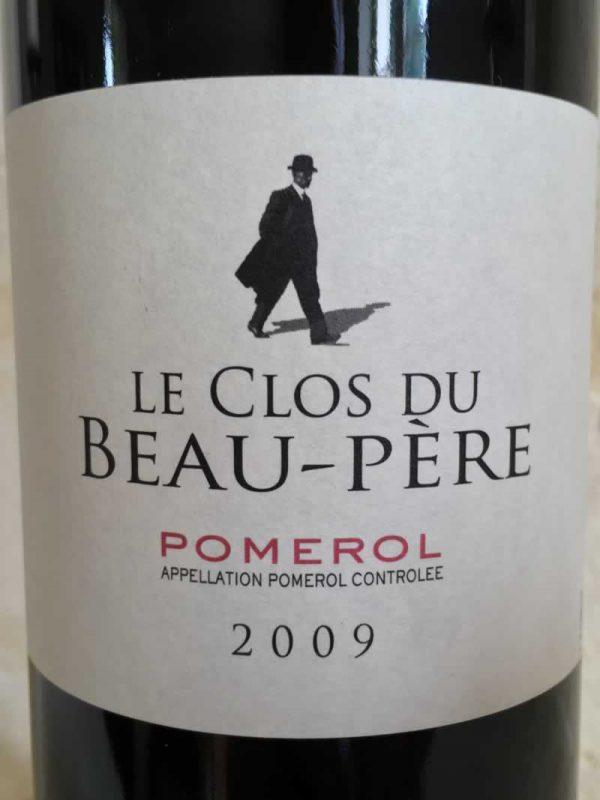 Clos du Beau Père Wine Label
